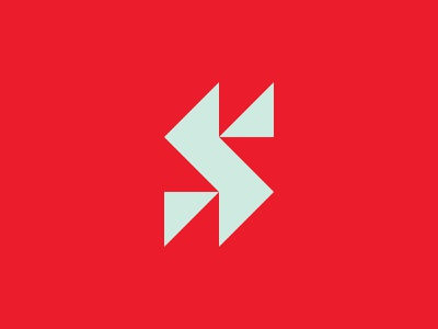 S icon logotype mark brand logo s