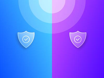Icon - Shield ui vector branding logo ux illustration design dailyui clean app