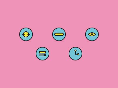 Service Design / UX Icons icon vector illustration icons service design