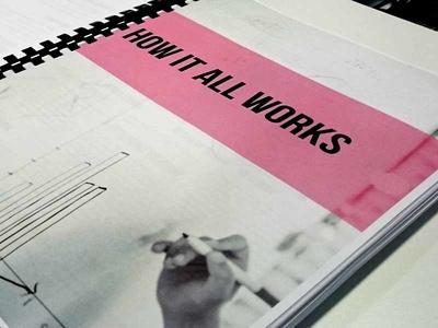 Book Design: The Design Studio Playbook Divider page design studio design process lifecycle service design playbook book book design how it all works