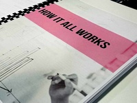 Book Design: The Design Studio Playbook Divider page