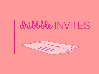 2 Invitations to Dribbble dribbble invitation two