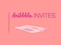 2 Invitations to Dribbble