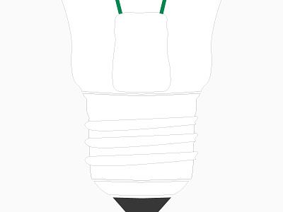 3. Bulb Detail screwing bulb bulb vector illustration vector illustration bulb detail