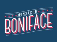 Monsieur Boniface Logo Design