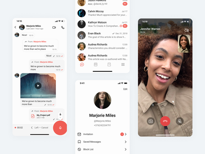 Gem4me –iOS Mobile App product design user experience call videocall profile blinkagencynet chat user inteface gem4me messenger blinkagency interface mobile application apple app ios app mobile app product ui