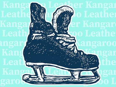 CCM Super Tacks hockey illustration