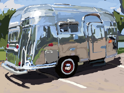 airstreams studies set in mp4 format ae study painting photoshop