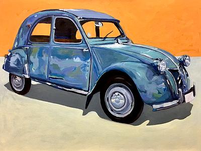 Citreon CV-2 citreon cv-2 painting car