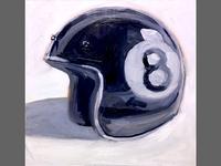Eightball Brain Bucket