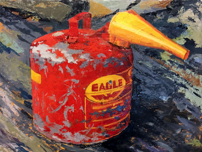 Gas Can Final old gas painting