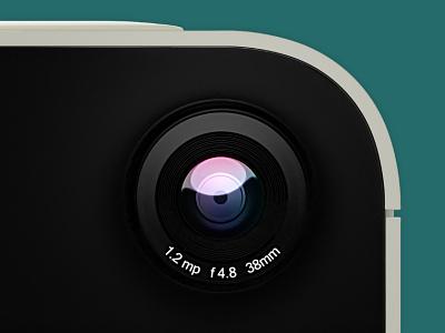 WnPhone 95 - Camera Lens microsoft concept affinity photo blender 3d winphone windows phone windows 95