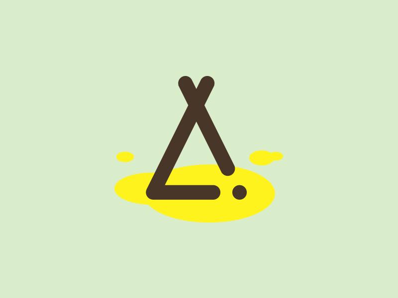 Teepee Pee Icon By Sam Aylard Dribbble