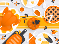 Orange Foods for Thanksgiving