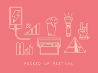 FUCKED UP FESTIVAL