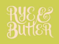 Rye & Butter Logo