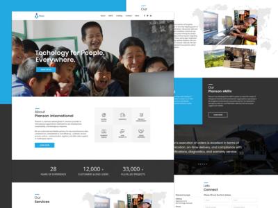 Planson International - Website Redesign