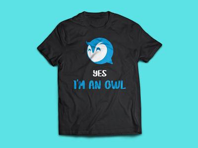 Owl T-Shirt Design typography t shirt t shirt designer t shirt design t shirt logo illustration design t-shirt trending t shirt trending fashion design custom t shirt clothing bulk t shirt