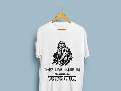 Ghost T-Shirt design logo illustration design t-shirt trending t shirt trending fashion design custom t shirt clothing bulk t shirt