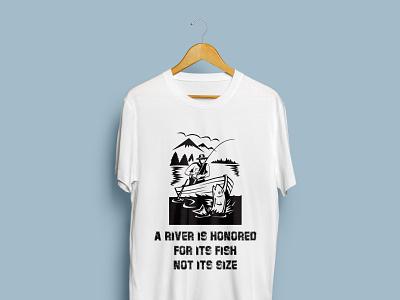 Fishing T-Shirt design. logo illustration design t-shirt trending t shirt trending fashion design custom t shirt clothing bulk t shirt