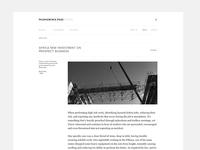 Mushowirapasi Website Desktop