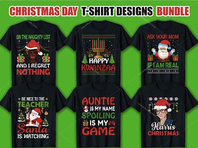 Christmas Day T Shirt Design Bundle merchbyamazon