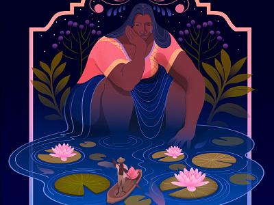 Farewell | Personal mexico latin america hispanic vector magical realism illustration editorial illustration adobe illustrator