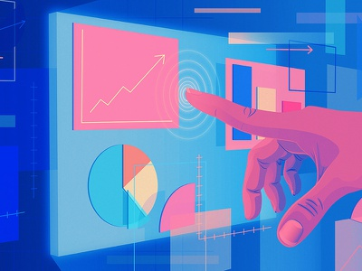 Is A.I. the Key to the Future of Your Business? | Intel artificial intelligence intel nyt editorial illustration adobe illustrator