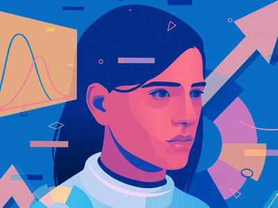 Is A.I. the Key to the Future of Your Business? | Intel editorial illustration artificial intelligence adobe illustrator nyt intel