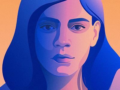 IT Fortress | IBM portrait editorial illustration artificial intelligence adobe illustrator