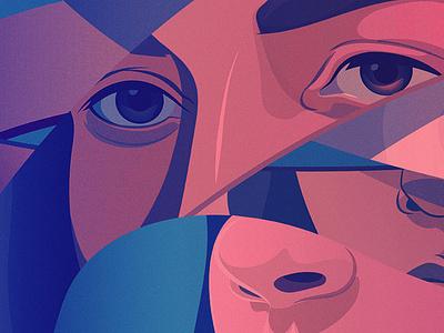 The Women Who Made Us Listen | Huffpost huffington post editorial editorial illustration illustration adobe illustrator