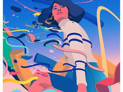 Changes magical realism editorial illustration adobe illustrator