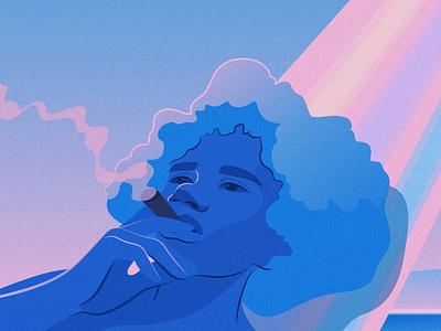 Nights Like This_ 1 vector cuba magical realism editorial illustration adobe illustrator
