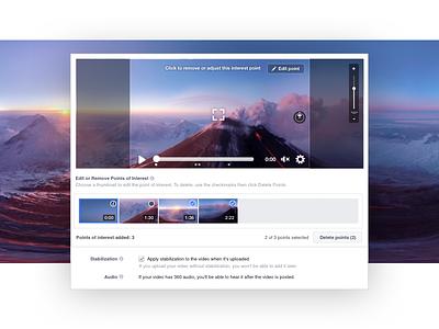 360 Video Publisher Tools design vr 360 video live facebook