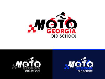 GEORGIA OLD SCHOOL old school branding illustration logo moto