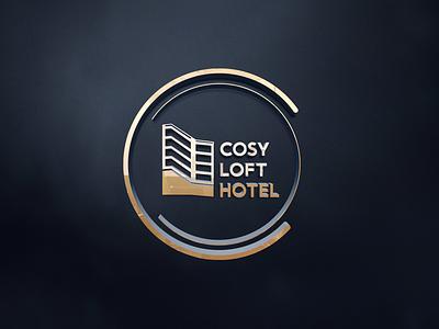 Cosy Loft Hotel loft hotel loft cozy cozy loft hotel hotels hotel batumi georgia design branding mylogo vector logo illustration