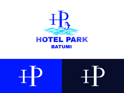 Hotel Park hotels design branding mylogo vector logo illustration georgia batumi prak hotel hotel park