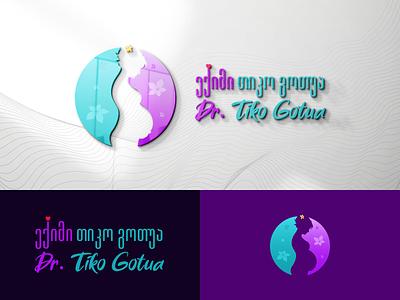 Dr. Tiko Gotua georgia design branding mylogo vector logo illustration ექიმი ექიმი თიკო გოთუა dr. tiko gotua