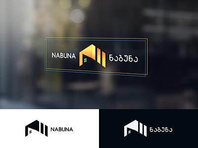 NABUNA - ნაბუნა shop tbilisi georgia design mylogo branding vector logo illustration nabuna ნაბუნა