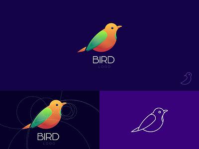 Bird Logo ფრინველი ჩიტი branding georgia design mylogo vector logo bird illustration bird logo