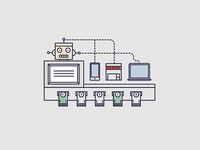Taxidia, automated cash handling machine