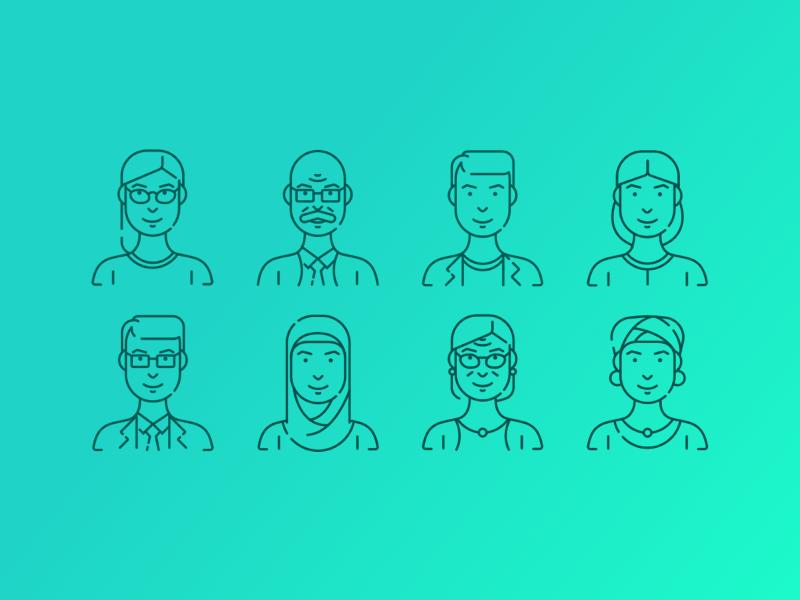 Personas explorations personas customer segment segmentation portrait persona