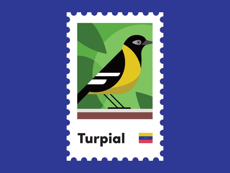 Venezuelan Icons - Turpial Bird venezuelan flag latinamerica bird culture venezuela turpial