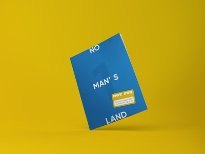 No Mans Land No.1 independent publishing editorial layout editorial design editorial feminism zine magazine identity design branding and identity illustration branding graphic design