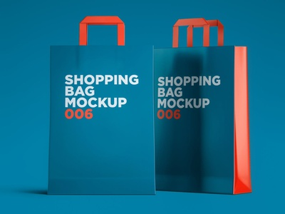 Shopping Bag Mockup template shopping bags bag photoshop mock-ups scene generator ux branding identity freebie free design scene creator ui download psd mockups mock-up mockup