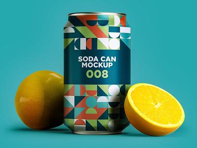 Soda Can Mockup soda can print app package photoshop mock-ups scene generator ux branding identity freebie free design scene creator ui download psd mockups mock-up mockup