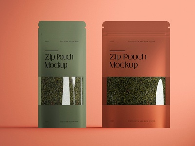 Zip Pouch Mockup doy paper jar illustration mockup photoshop identity freebie free design branding psd scene wrapper scene tea product tea zip puoch product mockups mockups pouch