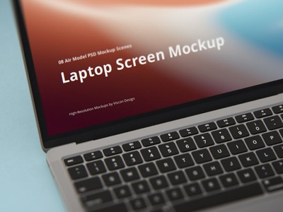 Laptop Mockup Scenes Air website webpage web ux ui presentation theme macbook mac laptop display simple clean realistic phone mockup smartphone device mockup abstract phone