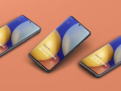Phone Mockup Galaxy S21 design branding ux android s21 samsung galaxy galaxy samsung ui device template creator scene instagram psd website app mockup