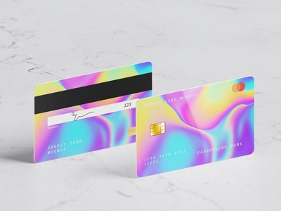 8 Psd Credit Card Mockup simple business agency corporate credit cards credit card buy chip payment showcase presentation tranfers bank print finance debit money card credit mockup